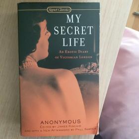 英文原版 my secret life