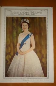 Illustrated London News Coronation Ceremony Number 1953年《伦敦新闻画报》英女王伊丽莎白二世登基特刊 精美插图 品上佳