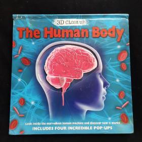 英文原版绘本 The Human Body 3D精装立体书