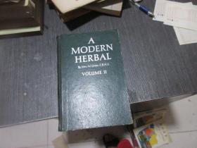 外文原版 A MODERN HERBAL 2   库2