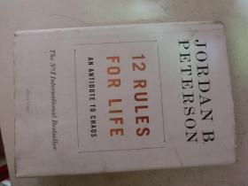 12 RULES FOR LIFE:An Antidote to Chaos(精装)