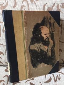 The Brothers Karamazov by Fyodor Dostoevsky -- 陀思妥耶夫斯基《卡拉马佐夫兄弟》Heritage Press 1949年出品,Constance Garnett译本,Fritz Eichenberg木刻插画   馆藏书