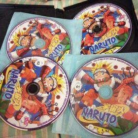 全日本最受欢迎动画王牌,火影忍者宇宙人,57至62,岸本齐史,122话一133话。共九张VCD光盘