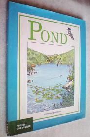 Pond (精装大16开原版外文书)