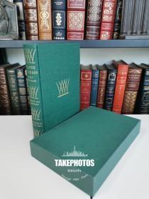 Leaves of Grass 《草叶集》waltman  惠特曼诗集  Heritage press 1937年 布面精装 带书匣 著名的 Rockwell Kent 插图版 品好近全新
