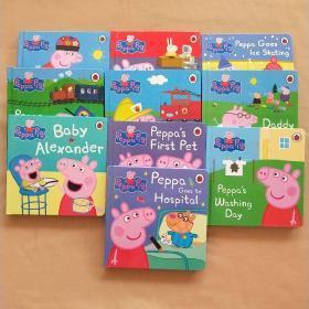 Peppa Pig 小猪佩奇 全10册(英文版 精装)