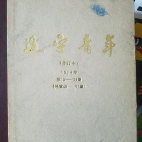 辽宁青年 合订本 1974年第13一24期