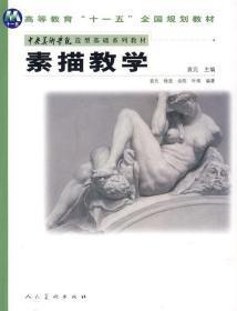 二手正版 素描教学 袁元 人民美术 9787102040165 袁元
