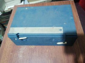 清代线装书旧函套1个、25X15.5X8CM