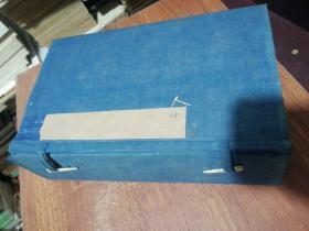 清代线装书旧函套1个、29X17.5X8CM