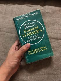 Merriam-Websters Essential Learners English Dictionary 韦氏基本英语学习词典【留意品相描述!】口袋本 小32开(尺寸为:17.5 × 10.5 cm左右)近1400页