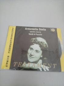 女高音花腔安特尼塔演唱普契尼,威尔第作品CD【光盘测试过售出概不退换】