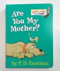 Are You My Mother?你是我妈妈吗? 英文原版纸板绘本  3-6岁