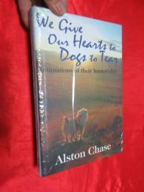 We Give Our Hearts to Dogs to Tear: Intimations of Their Immortality          (小16开,硬精装) 【详见图】,全新未开封