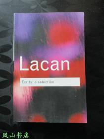 Écrits:A Selection(英文原版《拉康选集》,Routledge Classics系列,正常32开本!正版现货,私藏,品相甚佳)【包快递】