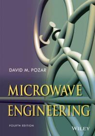 现货 Microwave Engineering  英文原版 微波工程(第四版)  [美] David M. Pozar 戴维M.波扎