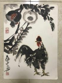 冯英杰《鸡》【保真】