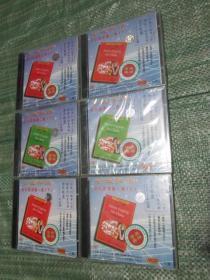 老版VCD光盘:金盘英语 初中英语第一册上下、第二册上下、第三册上下(共12片大全套合售,其中第一册上下共4片开封了,但品相非常好,其它8片未开塑料封)