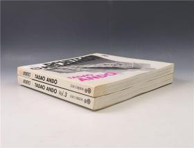 安藤忠雄签名并手绘本《GAア—キテクト:Tadao Ando》