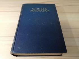 罕见清代珍本古籍1909年初版精装《(中国移民)CHINESE IMMIGRATION》