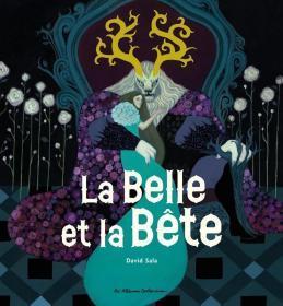 法语原版 大开本 内页带烫金 美女与野兽 La Belle et la Bete