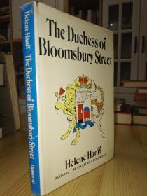 1973年第一版 The Duchess of Bloomsbury Street 《查令十字街84号》作者海莲汉芙对纽约,1973年第一版