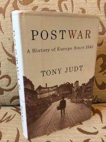 Postwar A history of Europe since 1945 by Tony Judt — 托尼 朱特《战后欧洲史》精装本