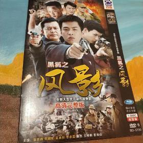黑狐之风影 裸碟DVD完整版电视剧 张若筠 何政军 吴承轩 景岗山