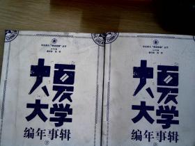 大夏大学编年事辑(上. 下册)