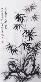 【自写自销】当代艺术家协会副主席王丞手绘  虚心劲节大丈夫1925