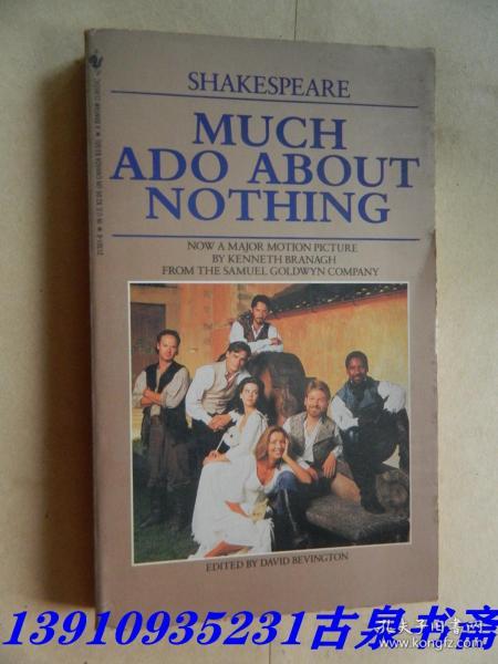 英文原版 Much Ado About Nothing (Bantam Classics)
