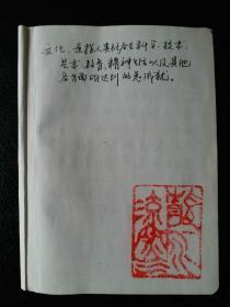 著名历史学家《历史文化手稿》【具有珍贵的文献价值】