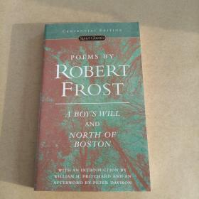 Poems by Robert Frost: A Boy's Will and North of Boston (Signet Classics)(英文原版)