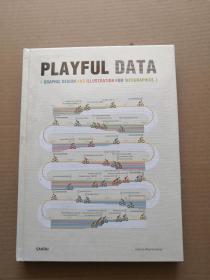原版现货Playful Data 好玩的数据:信息图与数据可视化设计 平面设计插画设计书(16开精装书未开封)