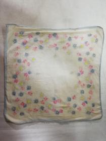 老手帕——花朵图案