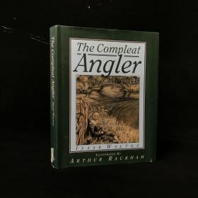 1992年 The Compleat Angler by Izaak Walton 精装 16开配插图