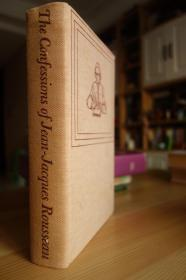 The Confessions of Jean-Jacques Rousseau 1955年The Heritage Press布面精装豪华插图版卢梭的忏悔录