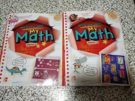McGraw-Hill MY Math volume 1,2 两本合售。