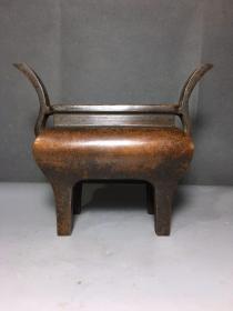 官耳铜香炉