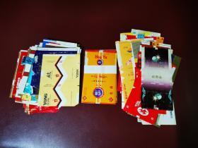 国内烟标100张(少量复品)