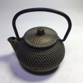 日本回流小铁壶