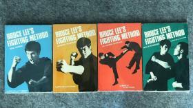 77年初版 《李小龙技击法》一套4本 bruce lee
