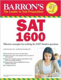 Barrons SAT 1600: Revised for the New SAT