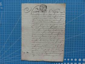 1860年左右欧洲手写原始信件---手账、收藏专用--棉麻纸(34)