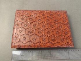手工《 皮质箱子 》   皮革  花纹   日本制