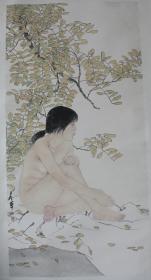 名家宋彦军画作---暖(复制高仿)(四尺整张)(裸画)