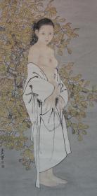 名家宋彦军画作---花间(复制高仿)(四尺整张)(裸画)