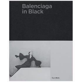 Balenciaga in Black巴黎世家的黑色作品集 英文原版服装设计