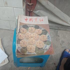 中国烹饪(15本合售)