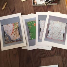 日本大学艺术不艺术资料馆和服照片。另外有两张明信片。